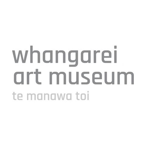 Name of the museum in light grey against a white background.
