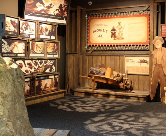 Waihi Gold Discovery Centre exhibition