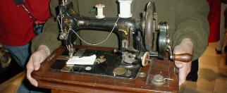 old sewing machine (not from MOTAT)